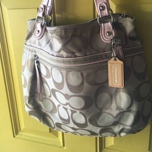 Coach Tote - purse lightly used